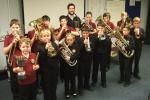 Junior Band with their trophies from SWBBA 2012